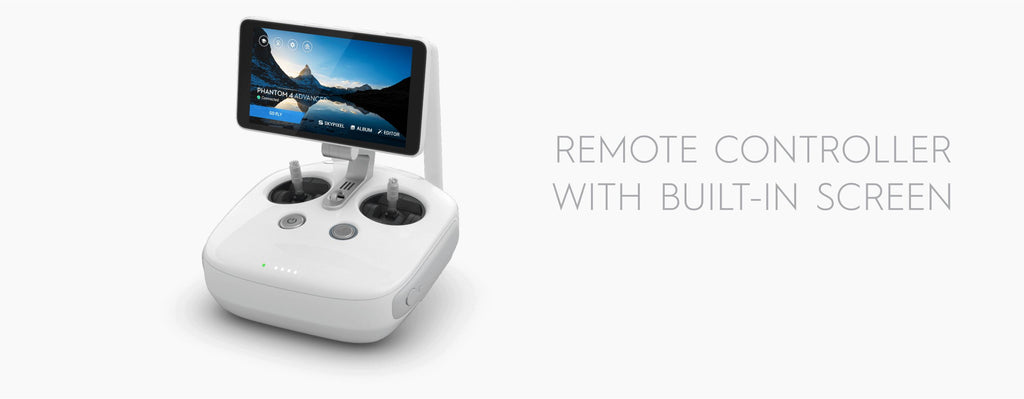 Phantom 4 Advanced Remote with Screen
