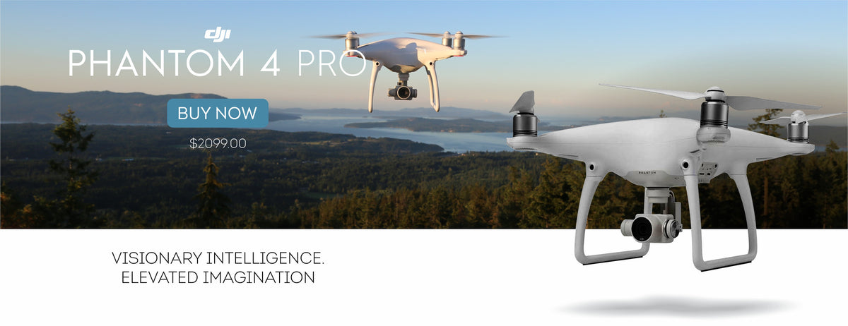 DJI Phantom 4 Pro | Dronelabs.ca - Top DJI drone camera dealer in Canada