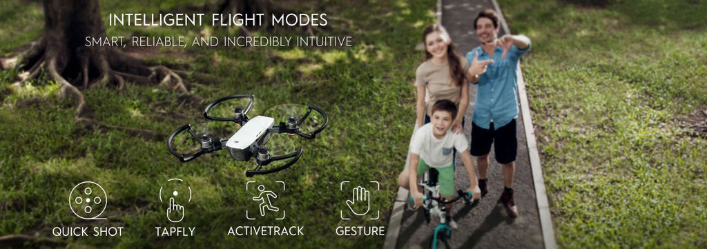 DJI Spark Intelligent Flight Modes | Dronelabs.ca