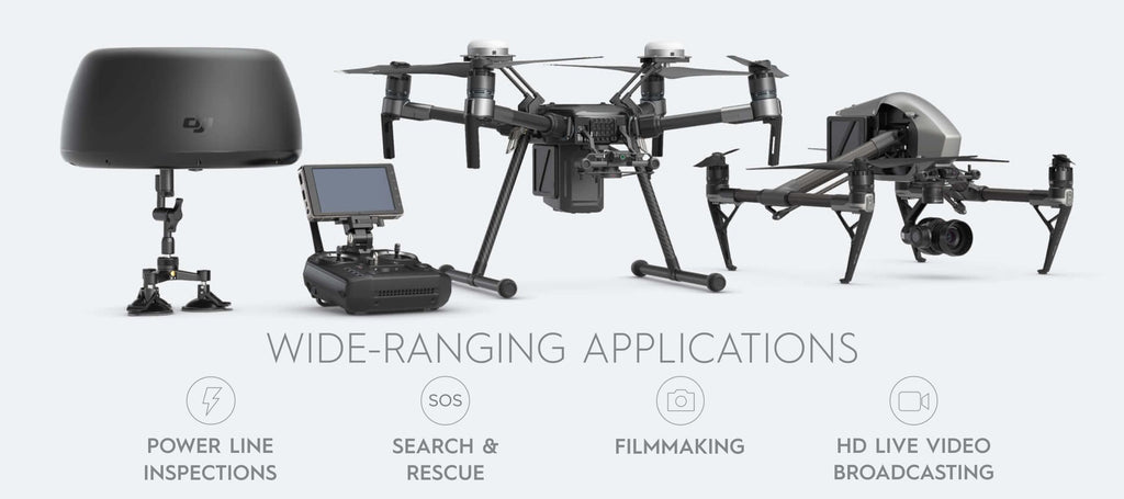 DJI Tracktenna - Wide Range Applications