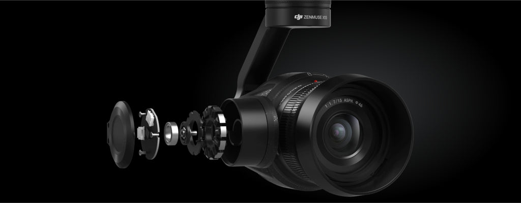 Zenmuse X5S - Enhanced Camera Stabilization
