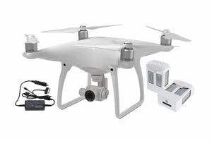 Phantom 4 + Two Extra Batteries + Car Charger - DroneLabs.ca