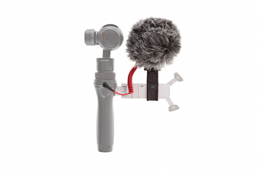 RODE VideoMicro & Osmo - Quick Release 360° Mic Mount - DroneLabs.ca