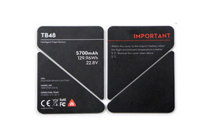 Inspire 1 - TB48 Battery Insulation Sticker - DroneLabs.ca