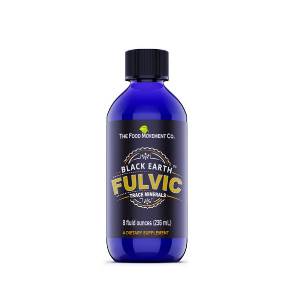 Black Earth Fulvic Minerals - 8 ounces