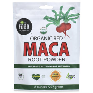 RED MACA, ORGANIC 8 OZ POUCH