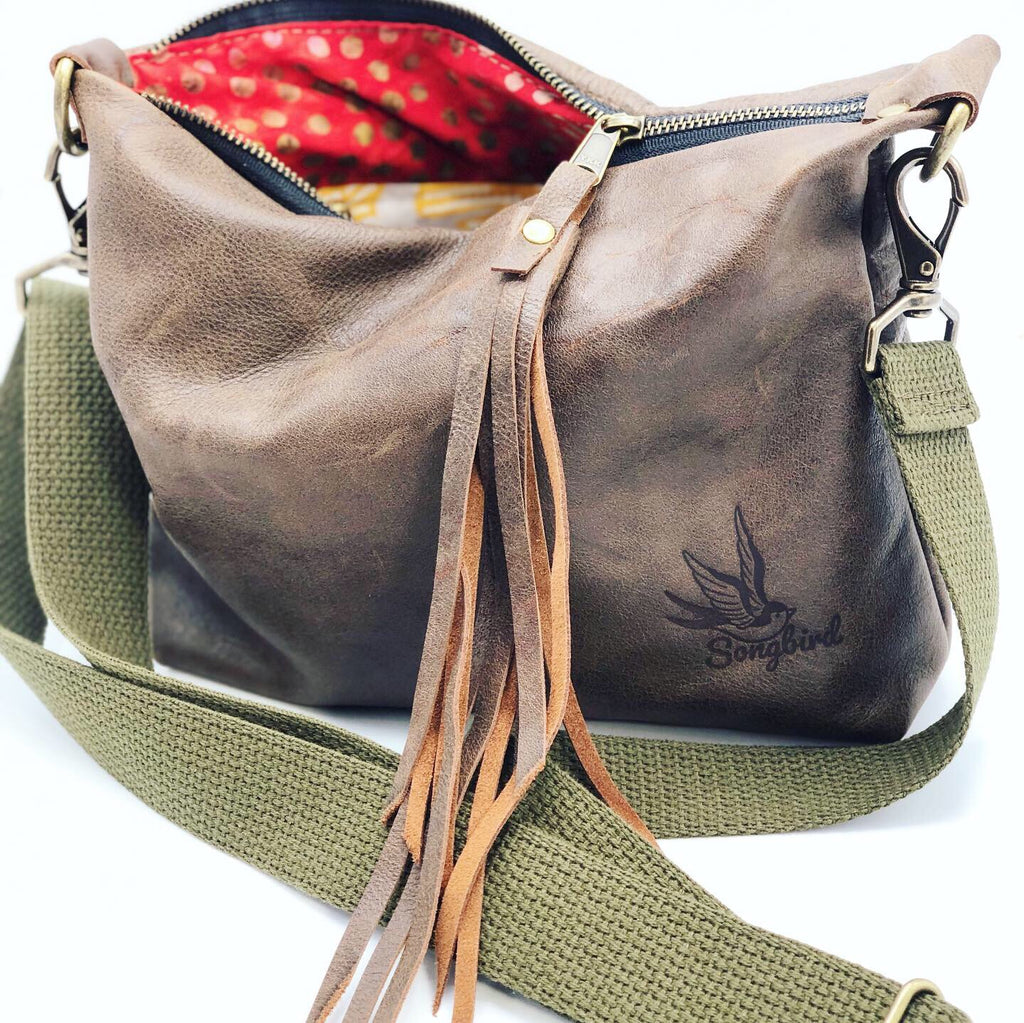 Songbird Medium Leather Crossbody