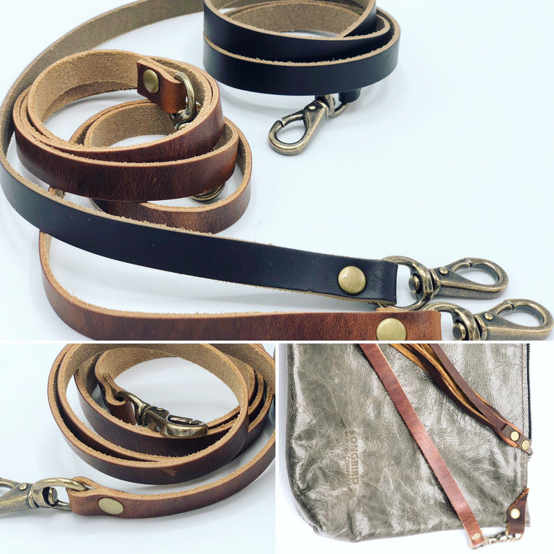 Songbird Leather Crossbody Strap