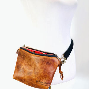 Kodiak Leather Simple Hip Bag