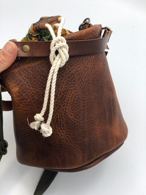 Songbird Leather Ditty Bag
