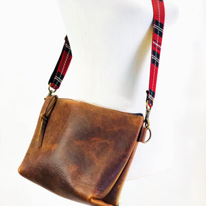 Medium Leather Bag - unlined