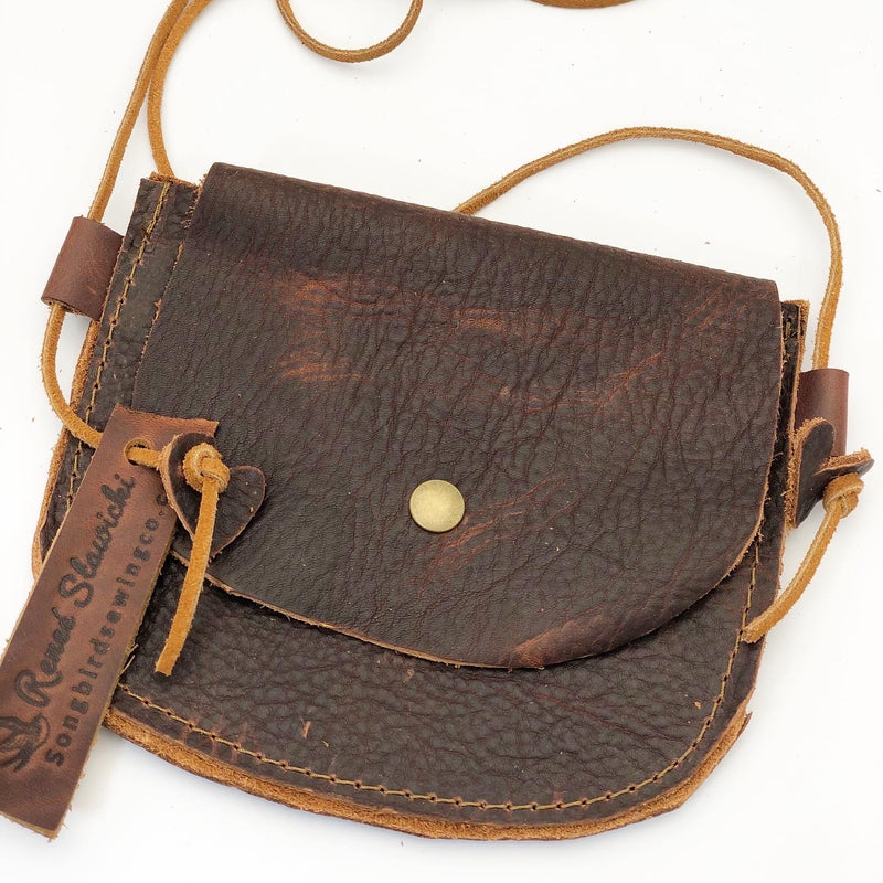 Little Girls Leather Purse