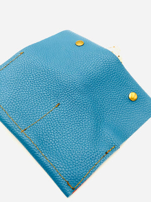 Royal Blue Snap Wallet