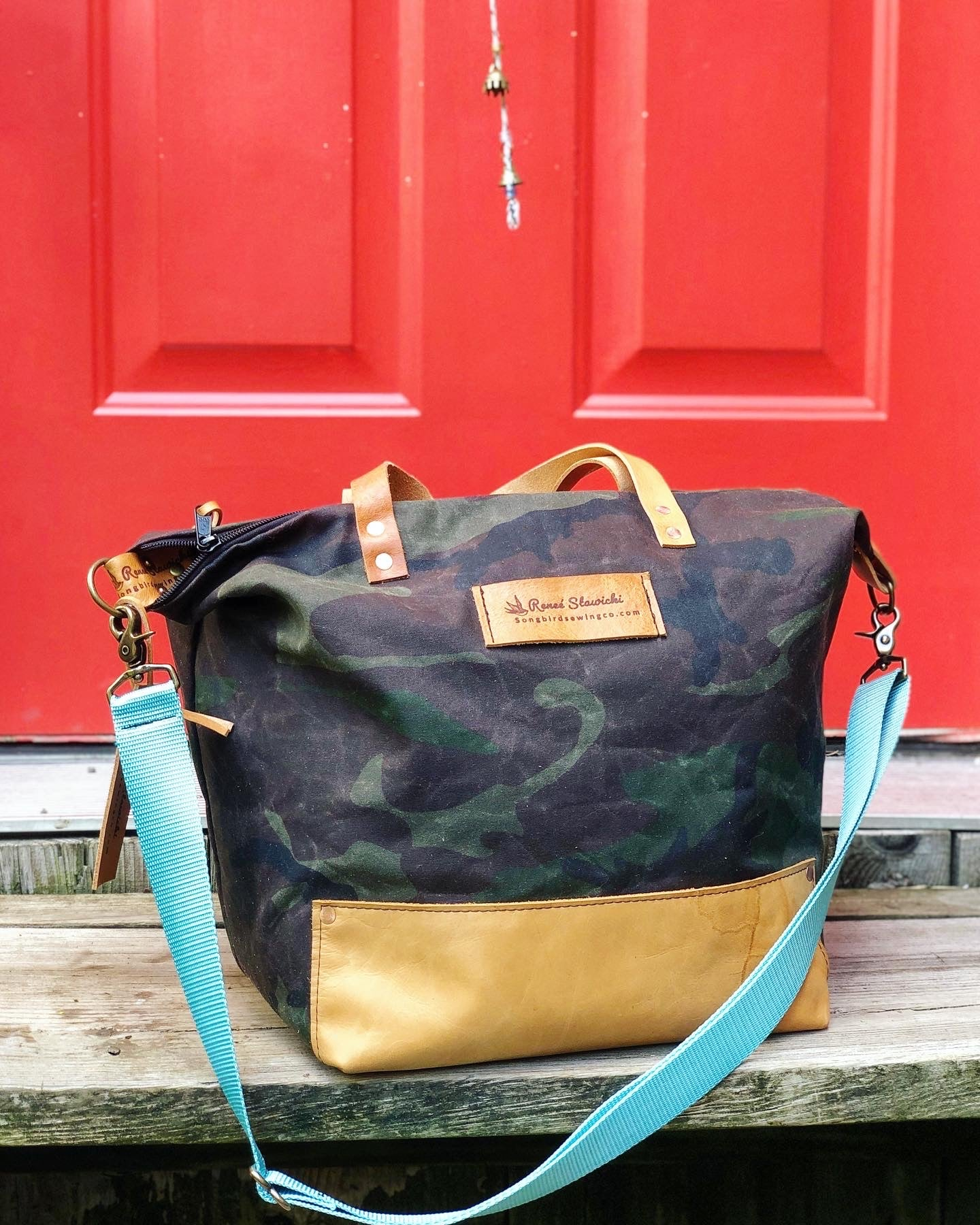 Waxed Canvas Weekender/Carry On Bag
