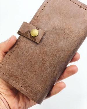 Leather Wallet/Checkbook Cover