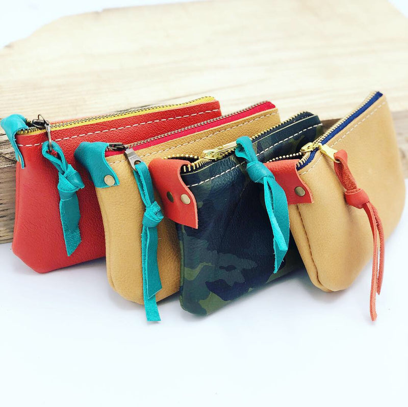 Mini Leather Pouch