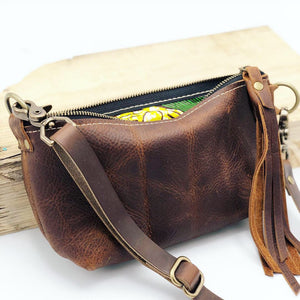 Adjustable Leather Bag Strap