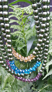 5 Strand Jewel Tones - Whitehot Jewellery - 3