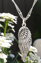 Load image into Gallery viewer, Whitehot Wing/Silver Necklace - Whitehot Jewellery - 3