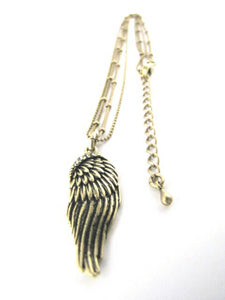 Whitehot Wing/Gold Necklace - Whitehot Jewellery - 3