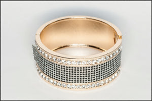 Crystal Cuff - Whitehot Jewellery - 1