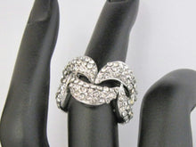 Load image into Gallery viewer, Crystal Wave Ring - Whitehot Jewellery - 3