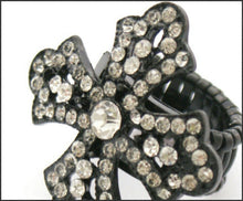 Load image into Gallery viewer, Diamante Cross Ring - Whitehot Jewellery - 2