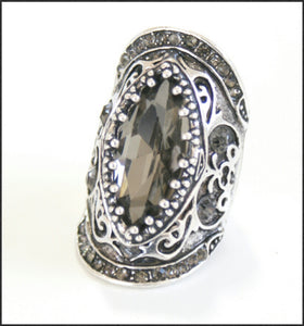 Filligree Cocktail Ring - Whitehot Jewellery - 1