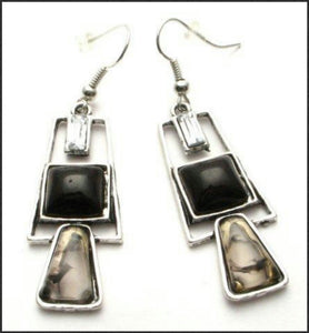 Geometric Earrings - Whitehot Jewellery - 1