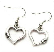 Load image into Gallery viewer, Love Heart Earrings - Whitehot Jewellery - 1