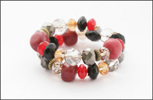 Load image into Gallery viewer, Multi Coloured Twist Bracelet - Whitehot Jewellery - 1