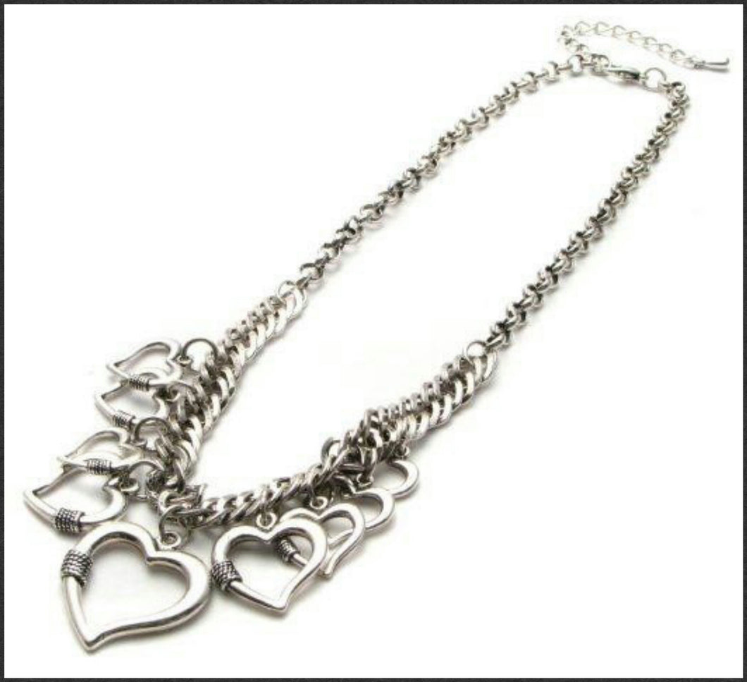 Love Heart Necklace - Whitehot Jewellery - 1