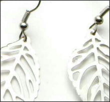 Load image into Gallery viewer, Silver Leaf Earrings - Whitehot Jewellery - 2