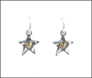 Tiny Star Earrings - Whitehot Jewellery - 1