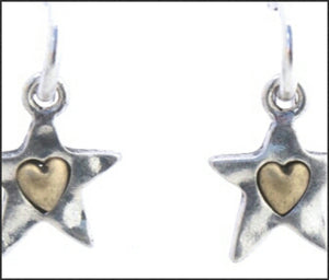 Tiny Star Earrings - Whitehot Jewellery - 2