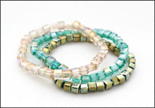 Load image into Gallery viewer, Trinity (Green) Bracelet - Whitehot Jewellery - 1