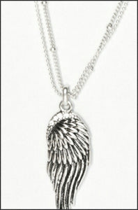 Whitehot Wing/Silver Necklace - Whitehot Jewellery - 2