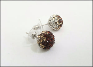 Fireball Studs/Bronze - Whitehot Jewellery - 1