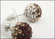 Load image into Gallery viewer, Fireball Studs/Bronze - Whitehot Jewellery - 2
