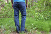 durable cotton regular jeans cut