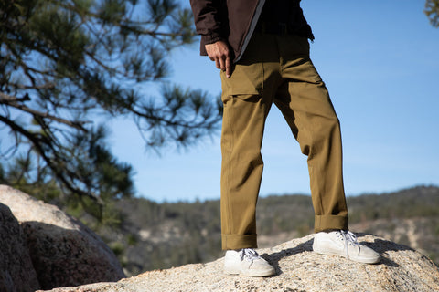 durable cotton CAMP trouser