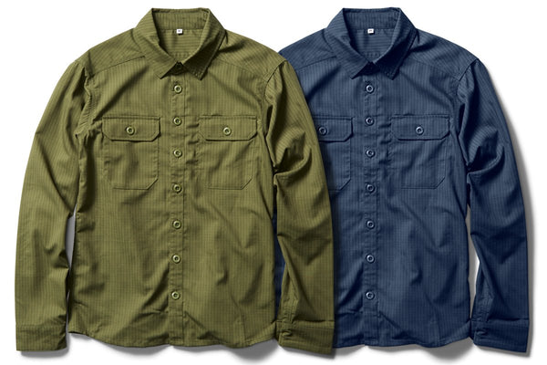 CORDURA combat wool button up long sleeve shirt