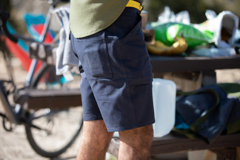 durable cotton camp short