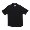 Modal® / cotton short sleeve polo shirt