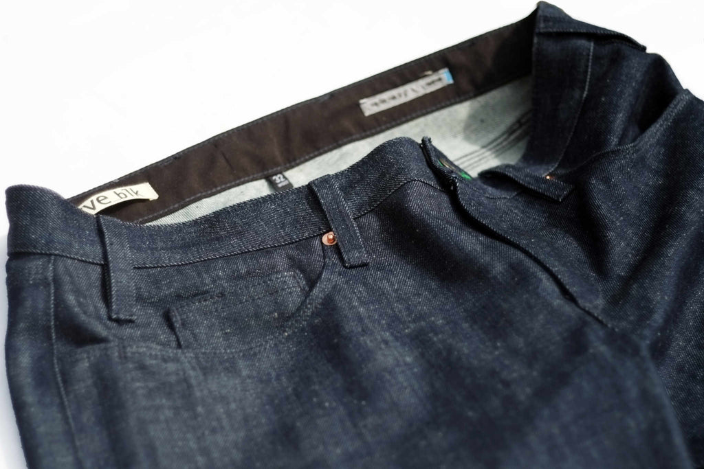 limited edition organic denim REGULAR FIT JEANS