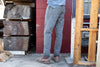 grey cordura regular jeans