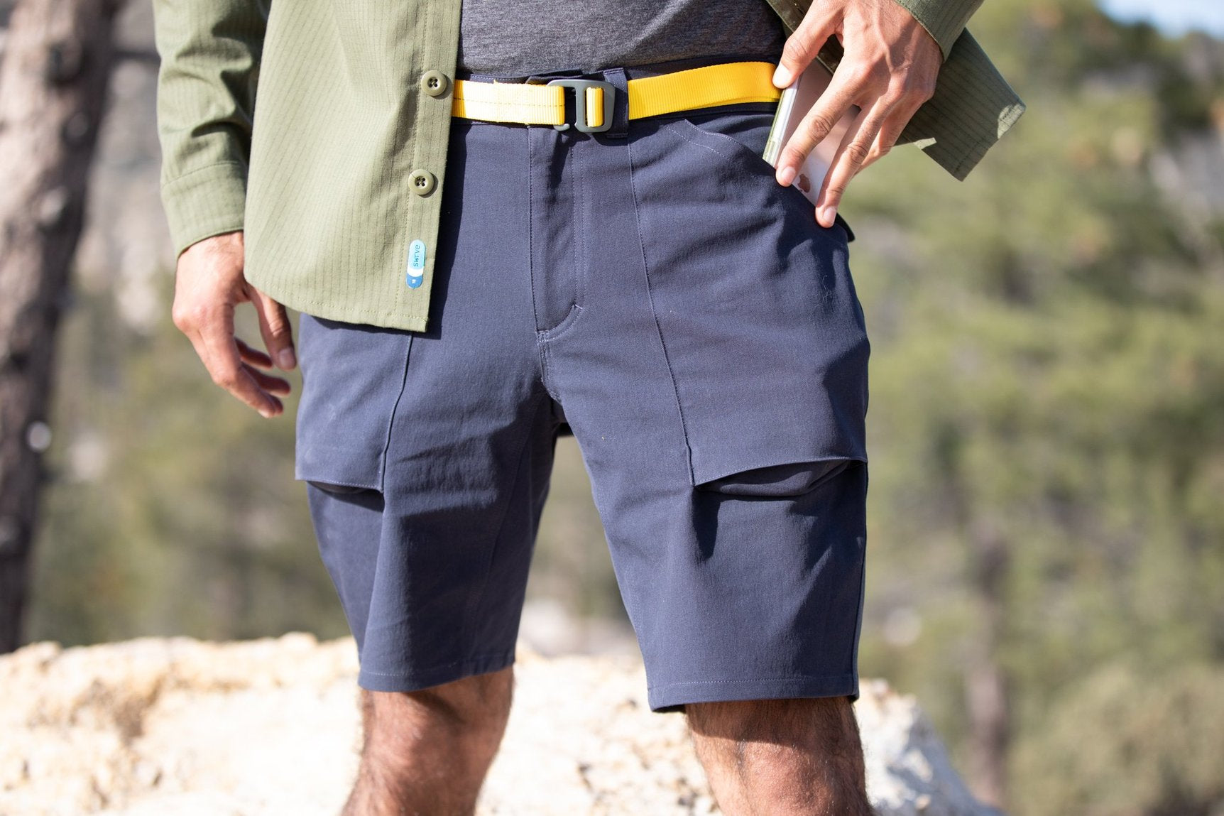 swrve durable cotton cigarette short