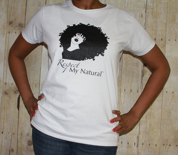 Respect My Natural Classic Fit Ladies Tee