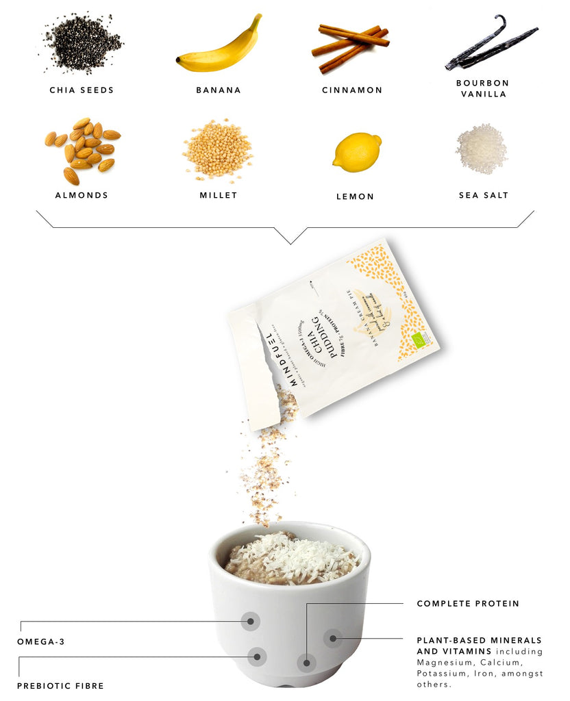 Banana Chia Pudding Nutrition Information
