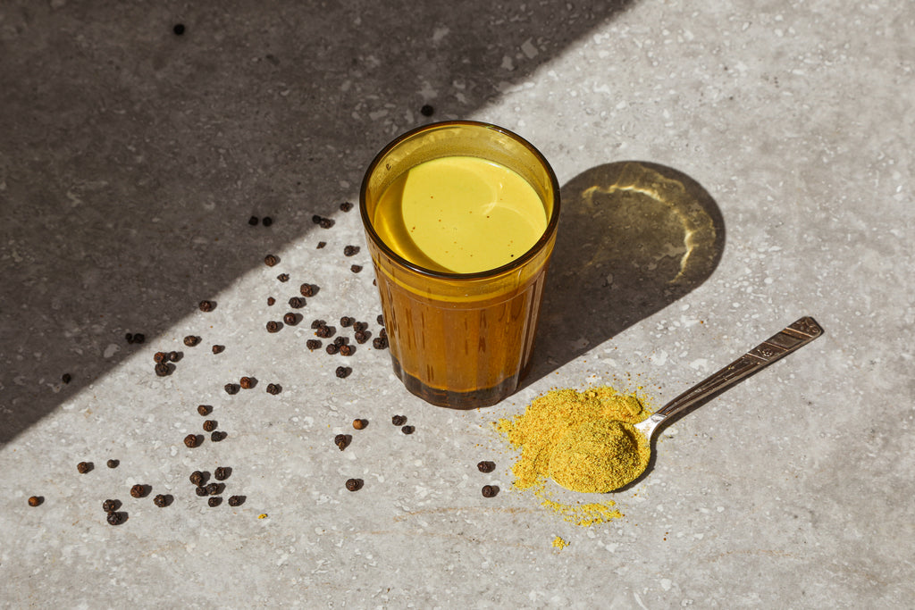 Golden Glow Turmeric Latte